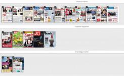 Gopress krantenkiosk de digitale kranten en weekbladen in de bib