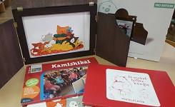 Kamishibai verteltheater en vertelplaten