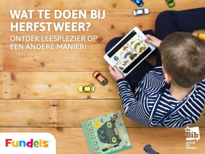 Binnen spelen is FUN met de digitale kinderboeken van de bib