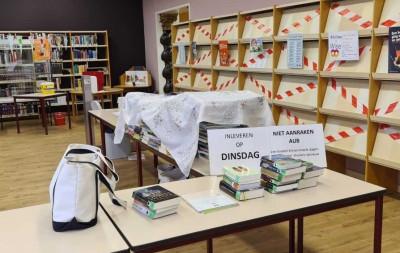 Boeken inleveren in tijden van corona